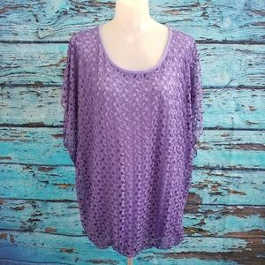 Roz & Ali Sz 1X Purple Top